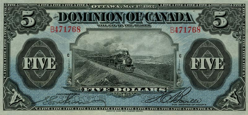 1912 $5 Note